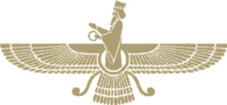 Faravahar, jedan od najpoznatijih zoroastrijanskih simbola podseća da je Apokalipsa - Frašokereti - vreme radosti, konačnog trijumfa dobra nad zlom